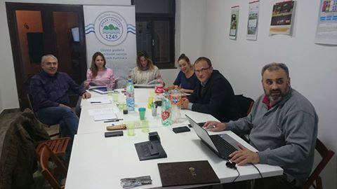 Predstavnici opštine Sremski Karlovci u Dunavu 1245