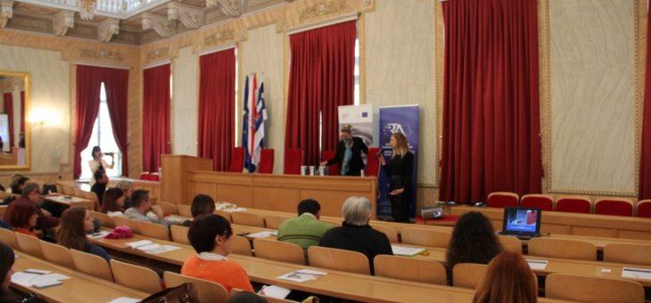 Predstavljen projekt Putevima EU u sklopu predstavljanja programa Europa za građane u Osijeku